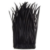 Goose Feather Biots Strung 6-8in 30gm Black